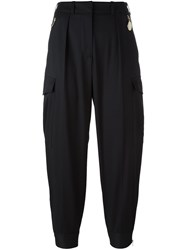 Stella Mccartney Tapered Sports Trousers Black