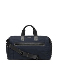 Michael Kors Parker Nylon Gym Bag Navy