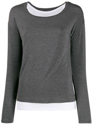 Majestic Filatures Jersey Stretch Layered Top 60