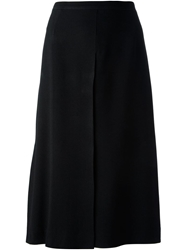 Gianfranco Ferre Vintage Classic A Line Skirt Black