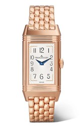 Jaeger Lecoultre Reverso One Duetto Moon 20Mm Rose Gold And Diamond Watch