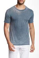 Mr. Swim Burnout Crew Neck Tee Gray
