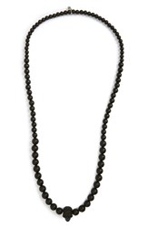 Alexander Mcqueen Men's Skull Ball Necklace