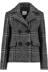 Vilshenko Checked Wool And Mohair Blend Jacket Black