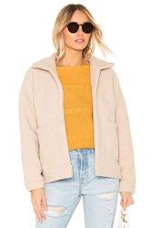 Line And Dot Parker Jacket Tan