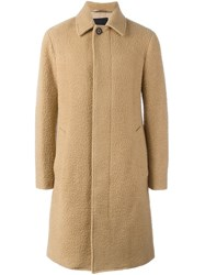 3.1 Phillip Lim Long Balmacaan Coat Brown