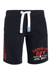Superdry Track And Field Jersey Short Navy