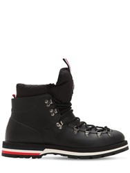 Moncler Henoc Rubber Hiking Boots Black