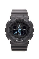 G Shock Ga 100 Neon Highlights Gray