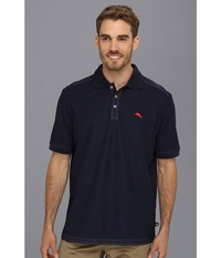 Tommy Bahama The Emfielder Polo Shirt Blue Note Men's Short Sleeve Pullover Navy