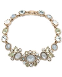 Marchesa Multi Stone Flex Bracelet Blue