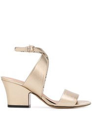 Salvatore Ferragamo Mid Heel Block Sandals 60