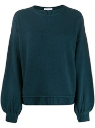 Patrizia Pepe Ribbed Trim Knitted Jumper 60