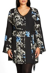 City Chic Plus Size Women's So Decadent Tie Waist Tunic