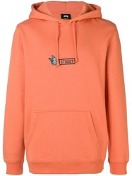 Stussy 118295 Rust Natural Vegetable Cotton Yellow And Orange