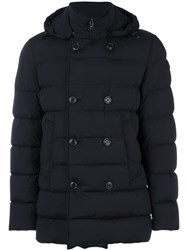 Moncler 'Loirac' Padded Short Coat Black