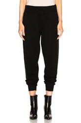 Calvin Klein Collection Valerio Cashmere Sweatpants In Black