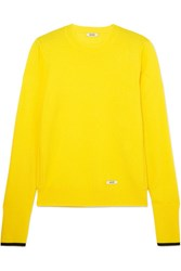 Blouse Glory Cashmere And Wool Blend Sweater Yellow