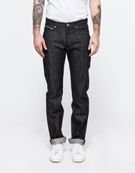 Naked And Famous Weird Guy Black Selvedge