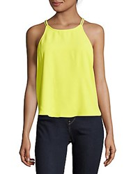 Parker Pittsburgh Solid Sleeveless Top Solar