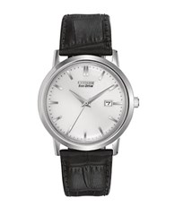 Citizen Eco Drive Stainless Steel Strap Watch Black
