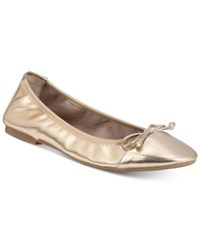 Rialto Sunshine Stretch Flats A Macy's Exclusive Style Women's Shoes Champagne