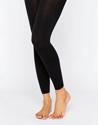 Asos 200 Denier Footless Tights Black