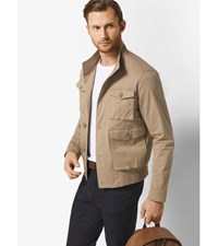 Cotton Twill Bomber Khaki