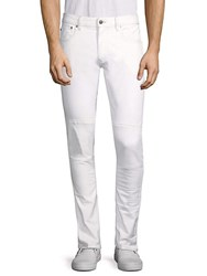 Belstaff Classic Straight Fit Jeans Natural White