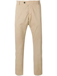 Barena Cropped Chino Trousers Nude Neutrals