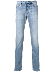Zadig And Voltaire Slim Fit David Jeans Blue