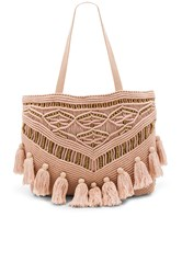 Cleobella Swoon Tote Bag Blush