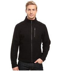 Nau Felt Over Jacket Caviar Men's Coat Black