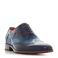 Jeffery West Jb51 Two Tone Oxford Brogue Shoes Navy