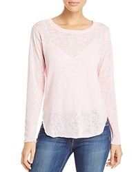 Nally And Millie Shirttail Tee 100 Bloomingdale's Exclusive Peach Pink