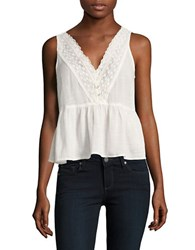 Vero Moda Nima Midi Top Snow White