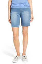Women's Jag Jeans 'Jordan' Pull On Denim Shorts Indigo