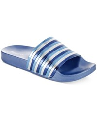 Kenneth Cole Reaction Women's Pool Pipes Jewel Flat Sandals Women's Shoes Storm