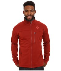 Black Diamond Solution Jacket Deep Torch Men's Coat Red