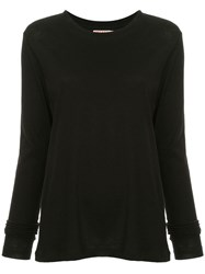 Organic By John Patrick Long Sleeve Boy Top Black