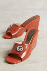 Anthropologie Rachel Comey Hess Mules Red