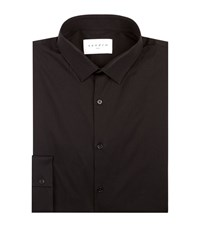 Sandro Seamless Stretch Shirt Male Black
