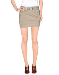 Cnc Costume National C'n'c' Costume National Skirts Mini Skirts Women Beige