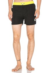Native Youth Toggle Colour Block Swim Red