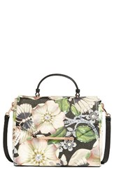 Ted Baker London Gem Gardens Faux Leather Satchel