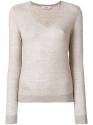 Pringle Of Scotland Lightweight V Neck Jumper Unavailable