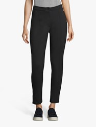 Betty Barclay Ankle Zip Detail Straight Trousers Black