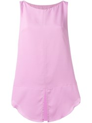Dondup Hisa Top Pink Purple