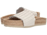 Free People Island Time Espadrille White Women's Slide Shoes