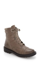 Women's Bp. Shayne Bootie Grey Oiled Leather